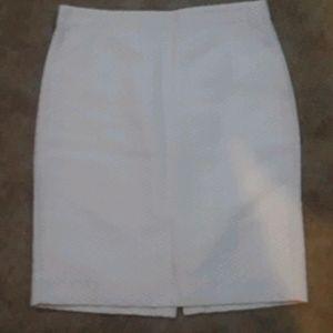 J. Crew Basketweave Pencil Skirt